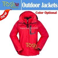 2014 New Fleece Women Camping Outdoor Hiking Jackets Softshell Ski Windstopper Waterproof Warm Windbreaker Free Shipping