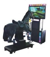 horsemanship training machine and horse ride game