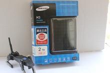 envío gratuito nueva marca samsung m3 2tb usb 3.0 2.5 pulgadas disco duro portátil 2000gb disco duro externo original con 3 años de garantía(China (Mainland))