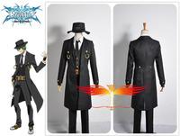 Anime Blazblue Hazama Cosplay Costume Custom Made Free Shipping