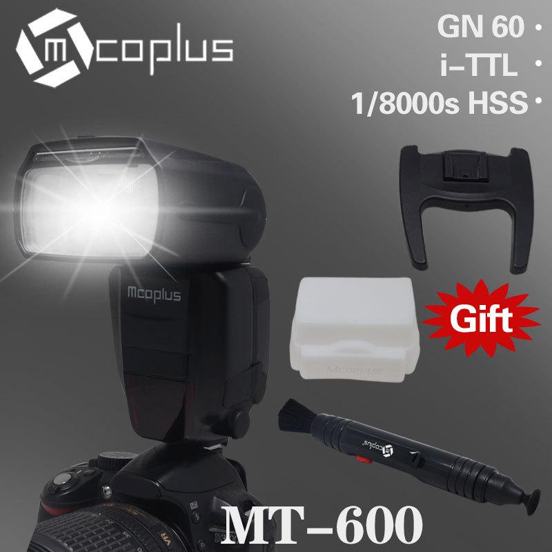 Mcoplus mt-600 E-TTL ad alta velocità sincronizzazione 1/8000s Speedlite istantaneo per Canon 5D Mark II III 6d 7d 60d 70d vs YONGNUO yn-568ex II