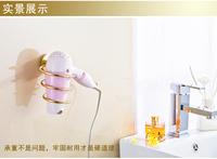 Bathroom shelf gold hair dryer rack fashion hair dryer rack copper