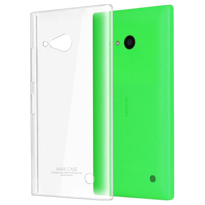 Genuine Brand New IMAK Crystal series Air case PC Ultra-thin Hard Skin Case Cover Back For Nokia Lumia 730 Lumia 735(China (Mainland))
