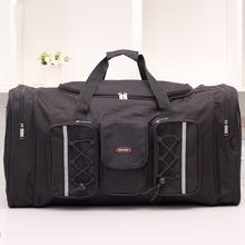 King Size Capacity Man Travel Bags Black Oxford Waterproof Bag Outdoor Sport Bag Men Weekend Travel Duffle Hiking Bags 2014 New(China (Mainland))