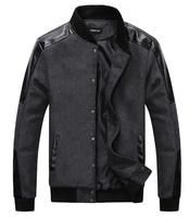 new Casual Fashion warm winter  Wool clothing sports Coat Jackets