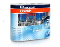 Free shipping Car headlight OSRAM halogen lamp COOL BLUE HYPER 62193CBH H4 60/55 W 12V 5300K