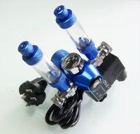 Aquarium DICI CO2 Regulator, DC02-06, Solenoid Check Valve, Speed control Valve, double bubble counters, Cylinders Pressure