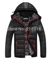 2014 Hot Men's Brand cotton warm padded jacket waterproof coat thickened long-sleeved sport coat male models warm padded