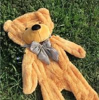 "Free shipping, Hot sale Plush Bear Skin,Semi-finished Teddy bear, Plush Toys, Hug the bear,100cm/39.5"" inch,3 color choose"
