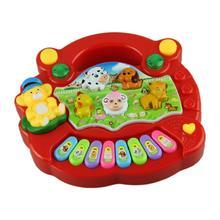 Fantastic  Funny Baby Kid Musical Educational Animal Farm Piano Music Toy Developmental,Free shipping(China (Mainland))