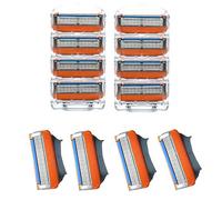 8 pieces/lot Hot sale Men's Razor Blades,high Quality Blade,Shaving razor blade,Standard for US&RU&Euro  Free shipping