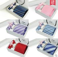 Free shipping Liu Jiantao tie men's formal wear business career Korean wedding gift box