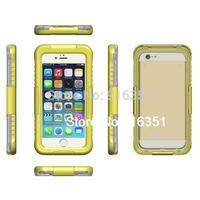 IP68 Waterproof Dustproof Shockproof Bumper Case For Apple iPhone 6 Plus 5.5&quot Case 5.5 Inch Retail Packaging Yellow