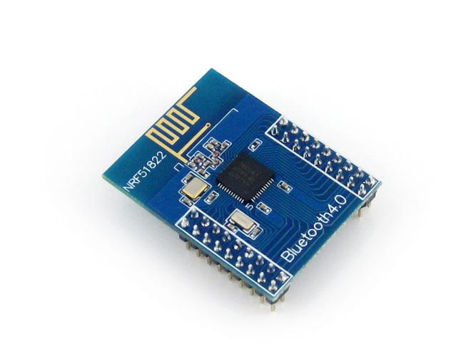 NRF51822 Module BLE4.0 Bluetooth 2.4G Wireless Module Wireless Communication Module Transmitter Receiver Development Kit(China (Mainland))