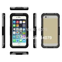 IP68 Waterproof Dustproof Shockproof Bumper Case For Apple iPhone 6 Plus 5.5&quot Case 5.5 Inch Retail Packaging Black