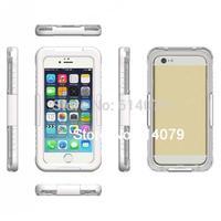IP68 Waterproof Dustproof Shockproof Bumper Case For Apple iPhone 6 Plus 5.5&quot Case 5.5 Inch Retail Packaging White