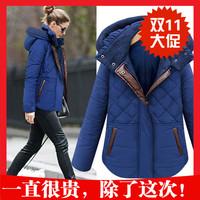 2014 women's winter design short outerwear female thermal slim cotton-padded jacket wadded jacket