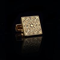 Gold plated cufflinks. free shipment