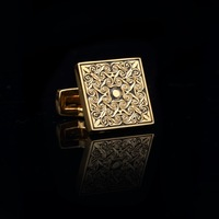 Gold plated cufflinks. free shipment