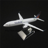 16cm Alloy Metal Air Brazil VARIG Airlines Boeing 737 B737 800 Airways Airplane Model Plane Model W Stand Aircraft Toy Gift