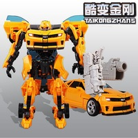 High Quality 2014 Genuine Transformation Robots Autobot Bumblebee Ironhide Movie 4 Diamond Class V Cool Change Voyager Toys