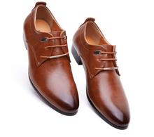 hombre oxford zapatos nuevos manera suave zapatos para hombre cuero superior bajo pisos oxfords hombres causal zapatos(China (Mainland))