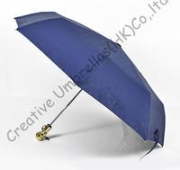 Skull handle,skeleton printed,2 times black coating,100%sunscreen,UPF>50+,parasol,three fold auto open&auto close ,windproof,