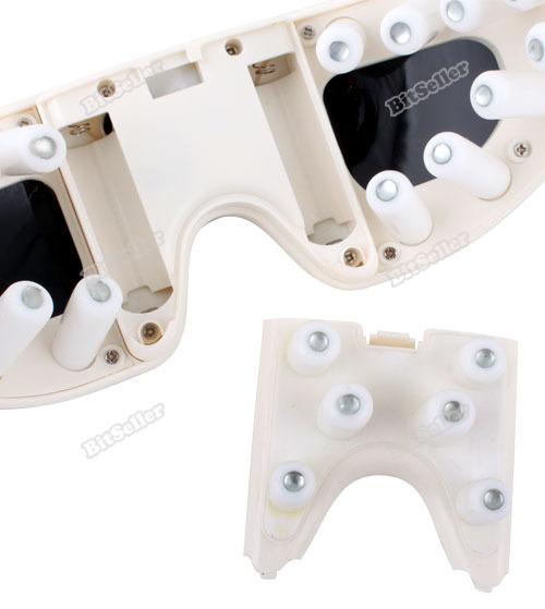 Webmax nova venda elétrica Eye Care fadiga Relief Massager vibração UV profissional(China (Mainland))