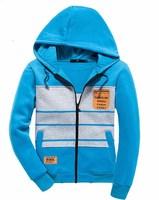Men's Zipper  Wool Hooded Sweatshirts  jacket  Slim fit  Fashion  Leisure coat  Free-shipping New 2014 warm  winter
