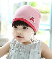 Unisex Korean Winter Simple Wild Car Children Cap 3 Colors Baby Knitted Hat