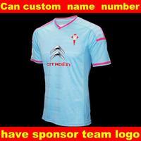 New Thai quality Soccer Jersey Celta Vigo in 2015 Alex Lopez Oubina Nolito 14/15 home soccer jerseys Futbol Shirt Celtic