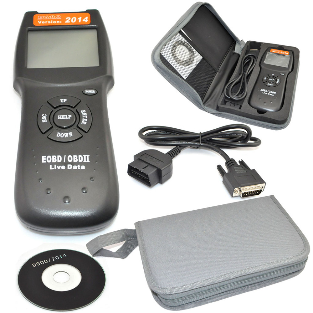 2014 D900 Universal ODB2 II EODB Auto Car Fault Code Reader Diagnostic Scan Tool(China (Mainland))