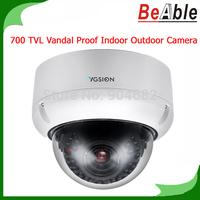 700 TVL Security Camera SONY Vandal Proof Camera Indoor & Outdoor Metal Dome CCTV Camera