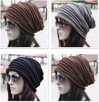 Women Men Unisex Baggy Beanie Chic Knitted Slouchy Skull Hats Winter Caps Hats