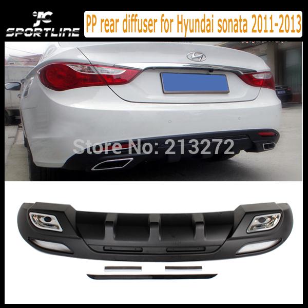 Спойлер JC sportline PP Hyundai Sonata,