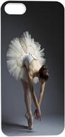 elegant beautiful ballet dancer Hard Unique Designer Slim Pattern Thin Protective Shockproof Case for Iphone 5 5S 5G