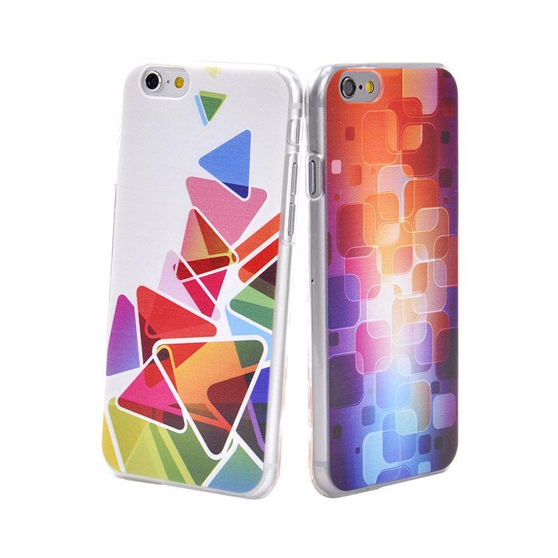 Décor peint de luxe téléphone mobile cas pour l'iphone 6 coloré magnifique pour couvrir les casiphone 6,4.7 pouces. nouvelle marque de qualité supérieure