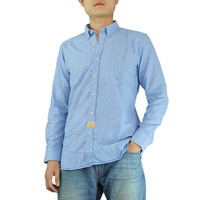 New Arrival Mens Solid Casual Shirt Skin Feeling Pretty Shirts Classic Button Down Collar Shirts 3 Colors Hawaii Style