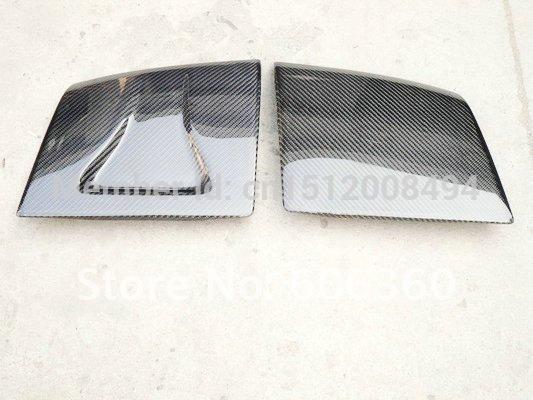 S13 Silvia 180SX 240SX Vented Carbn Fiber Headlight Cover(China (Mainland))