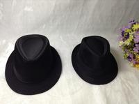 Fashion hat child adults hat belt fedoras male women's fashion jazz hat summer black gray cotton cap outdoor casual hat