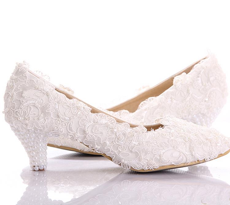 Magnificent Elegant Low Heel Wedding Shoes 750 x 670 · 261 kB · jpeg