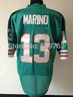 Miami 13 Dan Marino jersey Dan Marina throwback jersey Dan marino football jersey Retired Player Vintage Jersey