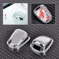 Chrome Windscreen Washer Spray Nozzle Cover Sticker for Ford Ecosport 2013-2015 ECA02057