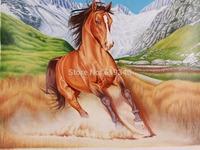 Running horse 30x40cm Diy Diamond painting decorative painting handwork resinstone square full diamond painting sets