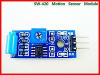 SW-420 Vibration Sensor Module Jitter Normal Closed Alarm Switch Moudle For Electric Car 5pcs