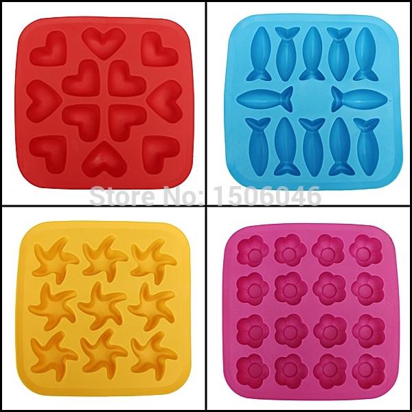 модный лед куб лотки силиконовые формы