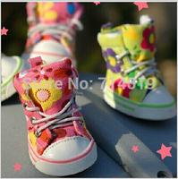 Free Shipping Small Dog Shoes Wholesale 4pcs/set Warm Spring Autumn Winter Dog Shoes Pet Shoes Cat Shoes