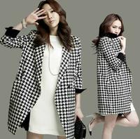 loose women's overcoat 2014 plus size plus size slim woolen outerwear lady autumn & winter coat