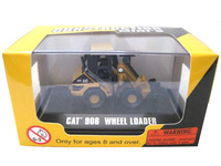 1:87 HO DieCast Model Toy Norscot Construction Mini's CAT 906 Wheel Loader diecast w/case 55422 (Buy One get one free)