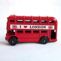 free shipping London souvenir London bus magnet UK bus fridge magnet model